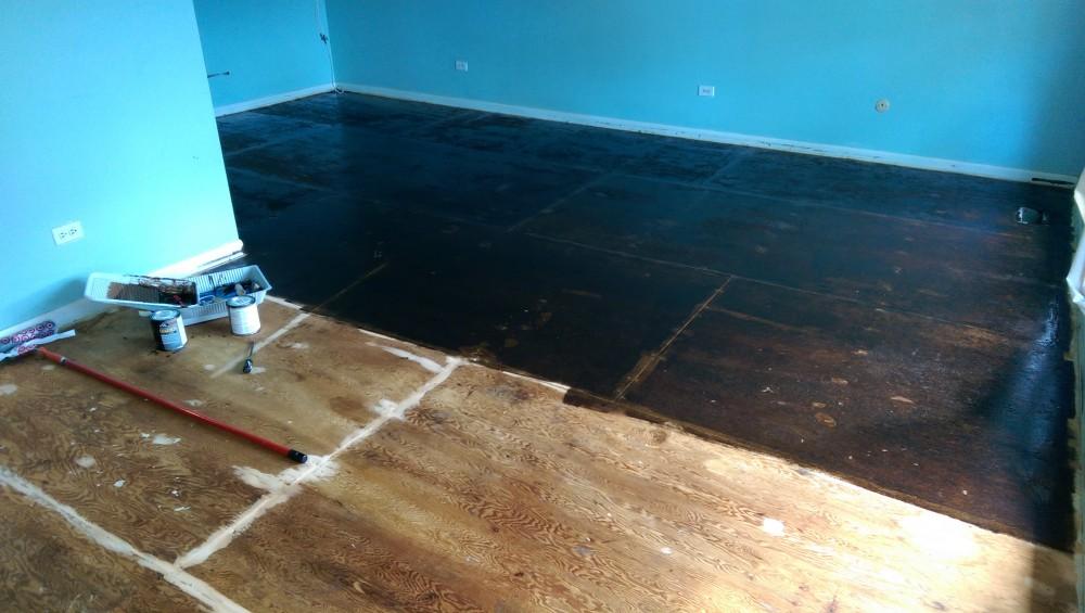 Staining Plywood Subfloors Suburban Fervor